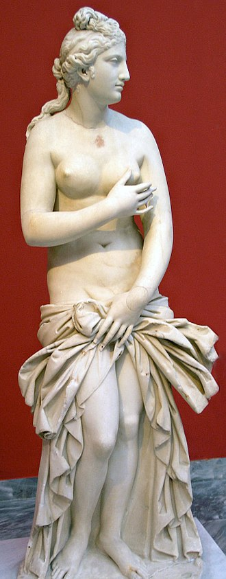 Aphrodite - Aphrodite Pudica (Roman copy of 2nd century AD), National Archaeological Museum, Athens
