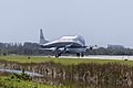 NASA 941 Super Guppy lands to pick up EM-1 Orion Service Module structural test article (KSC-20170623-PH-GEB01 0006).jpg