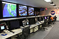 NASA Goddard engineers in the NASCOM control room.jpg
