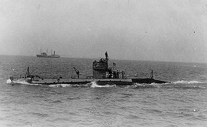 USS H-5 underway, circa 1922