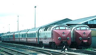Class of 5 Dutch/Swiss 4-car diesel multiple units