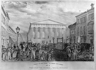 United States Custom House (New York City) - The 1842 Custom House, now Federal Hall National Memorial