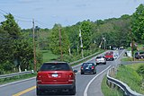 Route 308, east of Rhinebeck