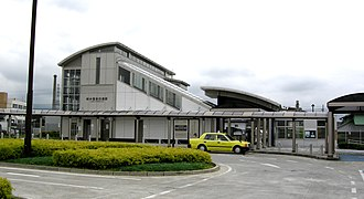 Nagaizumi-Nameri Station - Nagaizumi-Nameri station building, July 2007