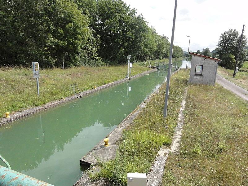 Naix-aux-Forges (Meuse) Canal de la Marne au Rhin, écluse nr 16