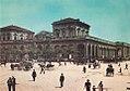 Napoli, Piazza Garibaldi con Stazione Centrale 2 (colorized).jpg