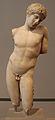 Narciso, da gaeta, copia romana del II secolo da orig. greco del 410-400 ac ca.JPG
