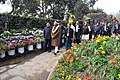 Narendra Modi inaugurates the orchid display and seasonal flowers exhibition, in Gangtok. The Governor of Sikkim, Shri Shriniwas Dadasaheb Patil, the Chief Minister of Sikkim (1).jpg