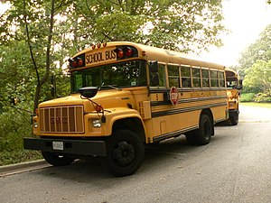 Chevrolet Kodiak - Blue Bird/GMC school bus