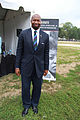 National Park Service manager at tent display - 50th Anniversary of the March on Washington for Jobs and Freedom.jpg