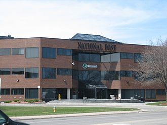 National Post - Former National Post (and Postmedia) building in Don Mills