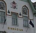 National symbols, Csongrád, gimnázium.jpg