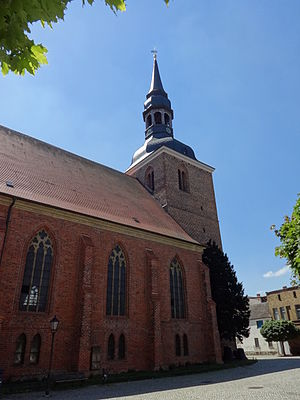 Nauen - St Jacob's Church