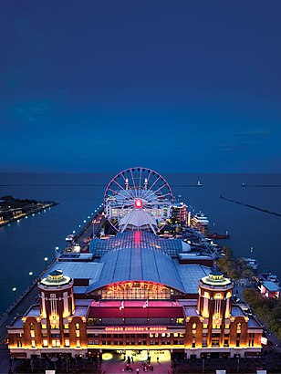 How to get to Navy Pier with public transit - About the place