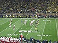 Nebraska vs. Michigan football 2013 05 (Michigan on offense).jpg