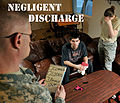 Negligent discharge, Don't be that guy 140108-F-JY232-010.jpg