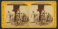 Negro quarters, Plantation, Fort George Island, Florida, from Robert N. Dennis collection of stereoscopic views.png