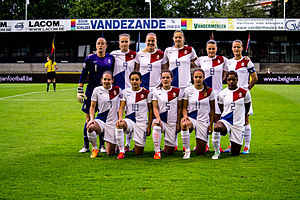 Netherlands women's national football team - Netherlands women's national football team in May 2014