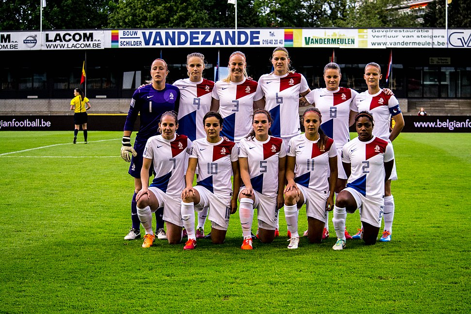 Netherlands womens national football team May 2014