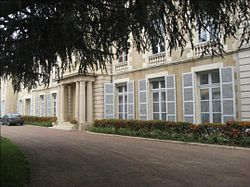 Prefecture building of the Nièvre department, in Nevers