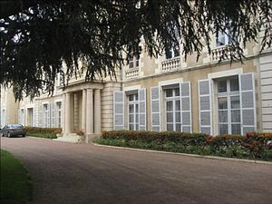 Nièvre - Prefecture building of the Nièvre department, in Nevers