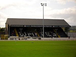 New Grosvenor Stadium - Main football stand