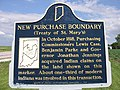 New Purchase historical marker near Fowler.jpg