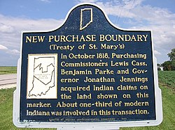 New purchase historical marker near fowler