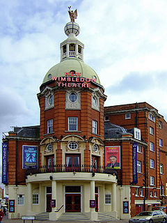 New Wimbledon Theatre theatre in Wimbledon, Merton, London, England