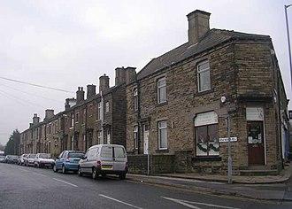 Low Moor, Bradford - Image: New Works Road geograph.org.uk 633767