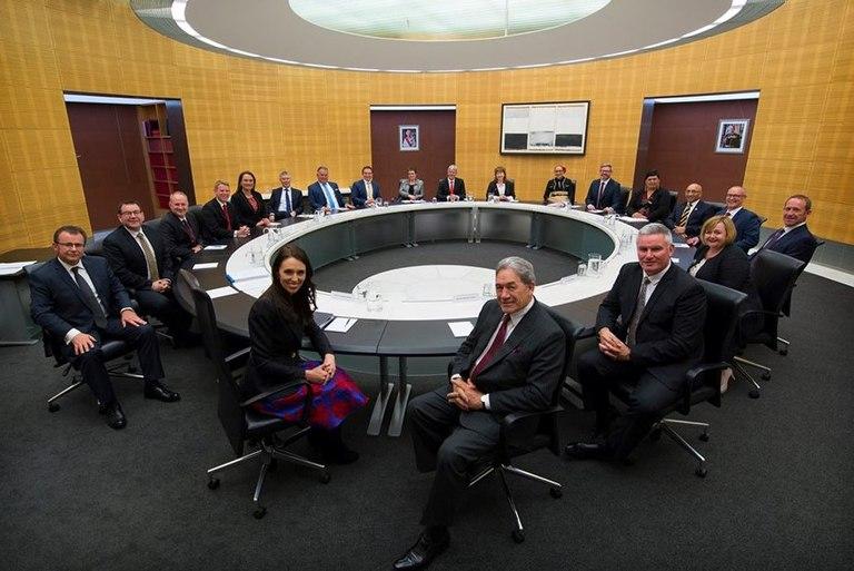 New Zealand Cabinet October 2017