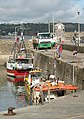 New catch arrives in the harbour at Saundersfoot - geograph.org.uk - 565741.jpg