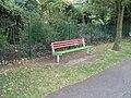 New seat in Bidbury Mead - geograph.org.uk - 1475999.jpg
