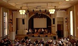 Gudstjeneste i New Life Church Stockholm.