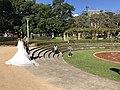 Newlyweds in the Hyde Park, Sydney.jpg
