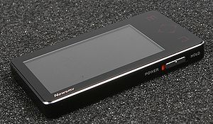 MP4 player - An MP4 player from Newsmy, a major PMP manufacturer in China