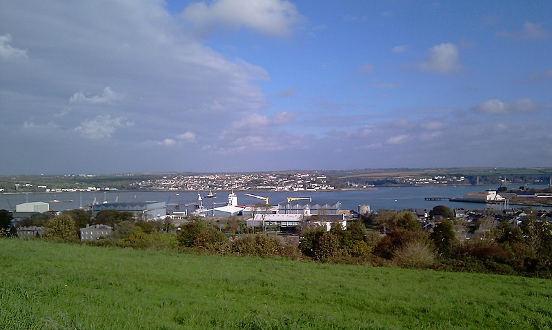 Neyland from Defensible Barracks (Pembroke Dock)