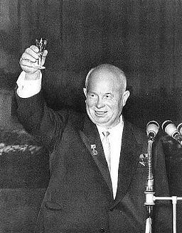 Nikita Khrushchev in 1959