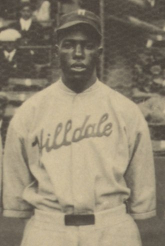 Nip Winters - Winters at the 1924 Colored World Series.