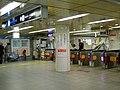 Nishiumeda station ticket gate - panoramio.jpg