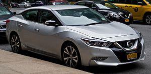 Nissan Maxima - Image: Nissan Maxima SV (A36) – Frontansicht, 1. Oktober 2016, New York