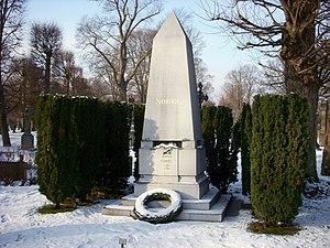 Norra begravningsplatsen - Tomb of Alfred Nobel