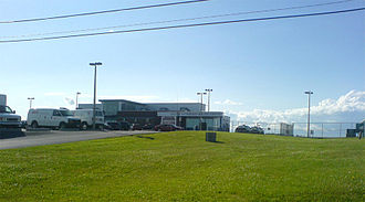 Kingston Norman Rogers Airport - Norman Rogers Airport terminal
