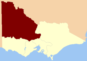 North Western Province (Victoria) - North Western Province, 1856