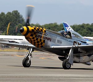 Harrison B. Tordoff - Tordoff's restored P-51 in 2013