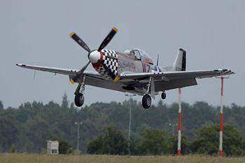 North American P-51 Mustang at ILA 2010