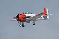 North American T-28B Trojan Navy N63NA Landing 02 TICO 13March2010 (14576479786).jpg