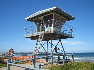 Surf lifesaving - North Cronulla Beach Tower