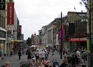 Northumberland Street - Image: Northumberland Street, Newcastle upon Tyne