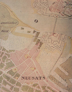 Novi sad map 1845.jpg